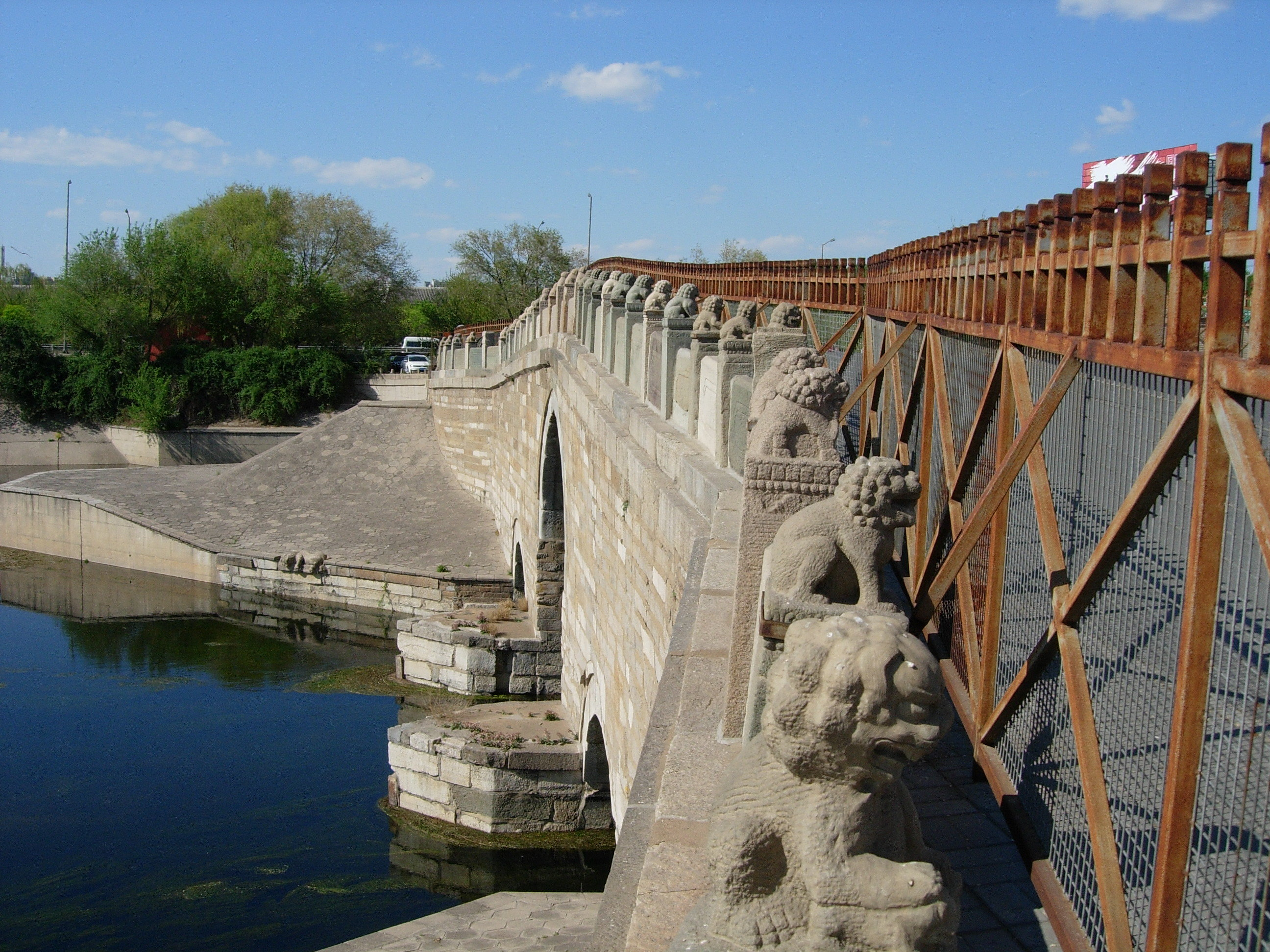 【携程攻略】通州区八里桥景点,八里桥,原名永通桥,是