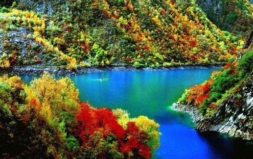 松坪沟风景区景点图片