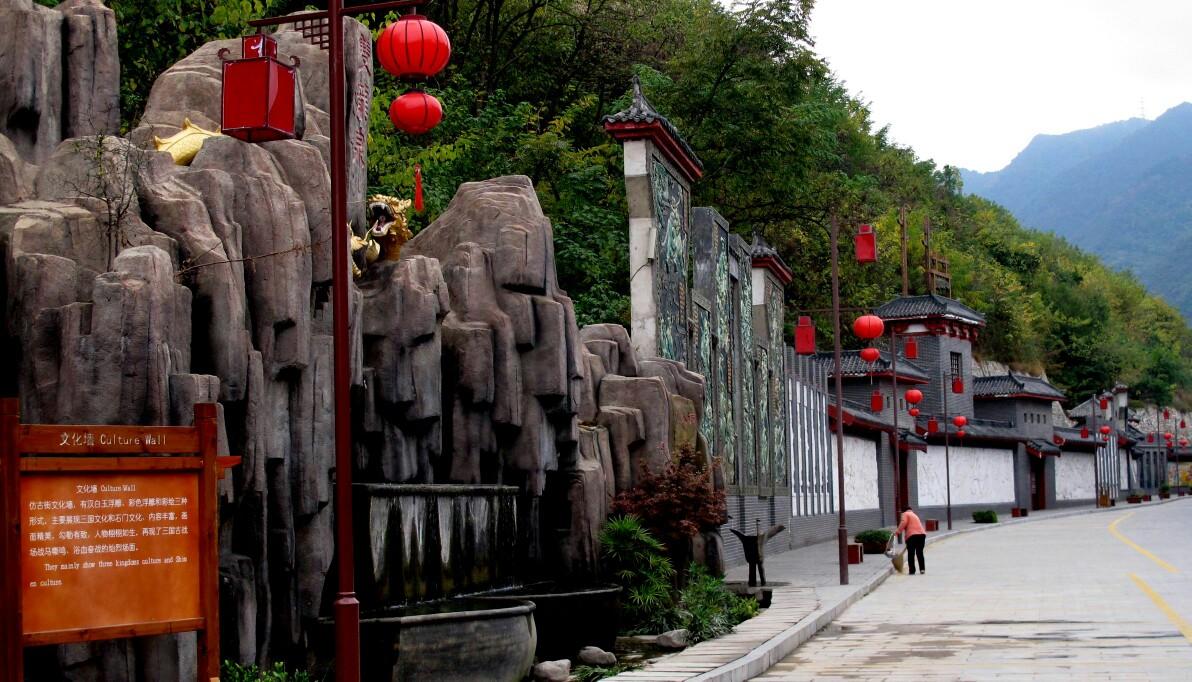 汉中石门栈道风景区,一日游