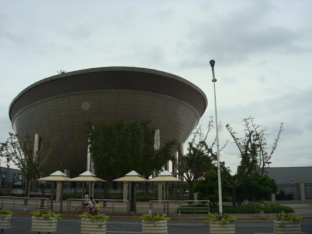 上海世博会沙特馆,月亮船