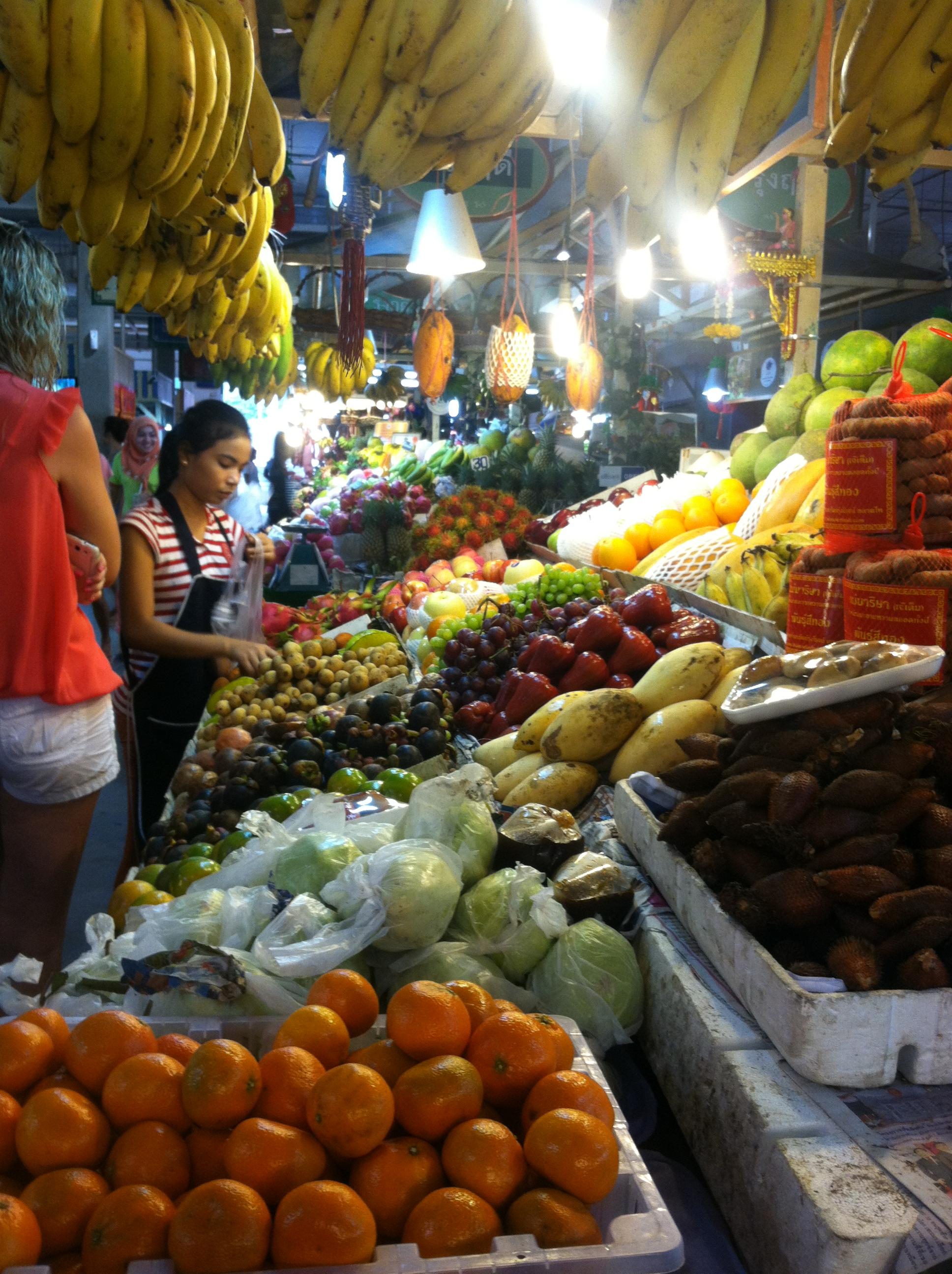 普吉岛菜市场