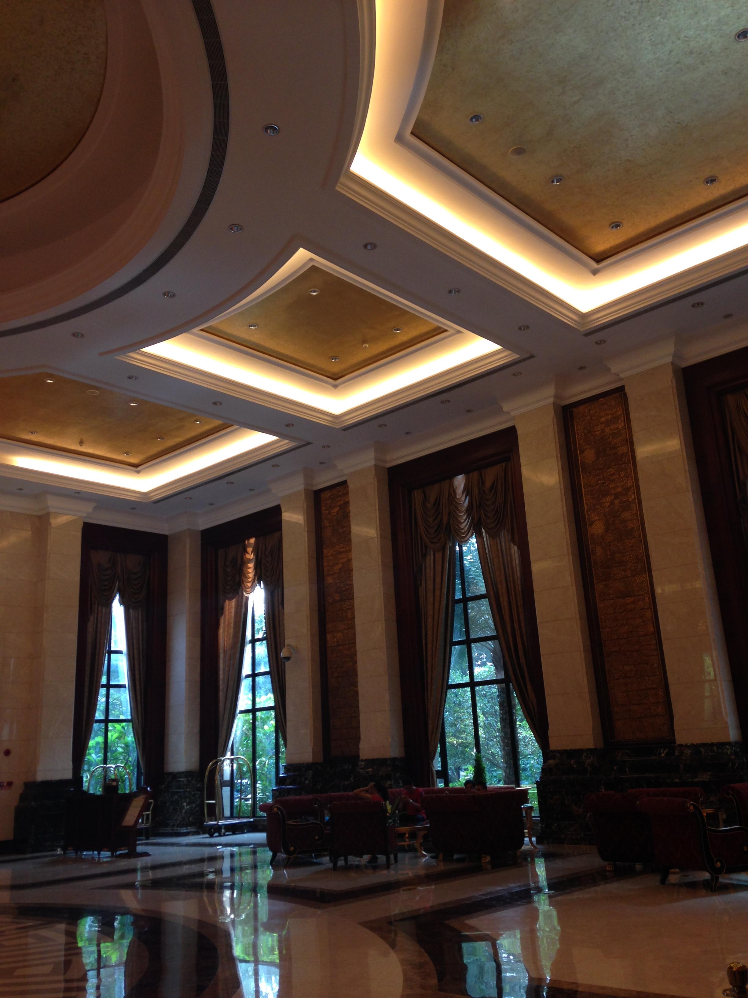 岭南风格酒店大堂图片