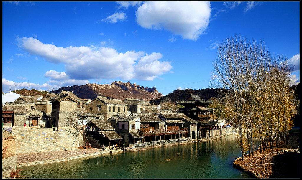 北京密云古北水镇采风2013.11.4图片