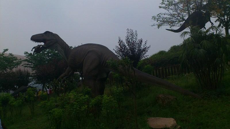 自贡恐龙博物馆旅游景点攻略图