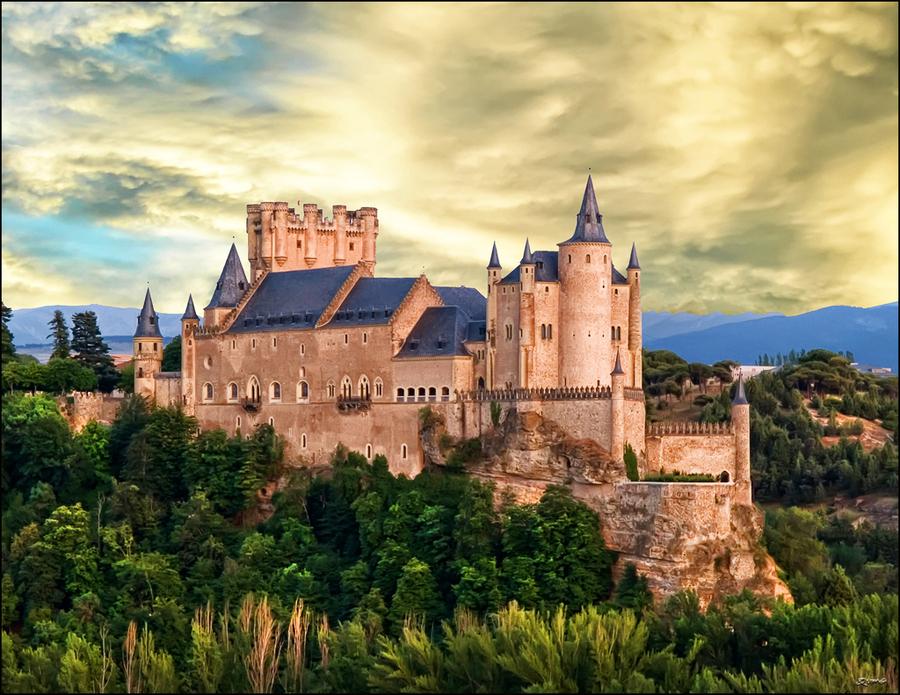 迪斯尼城堡原型,古罗马引水渠建筑的奇迹!