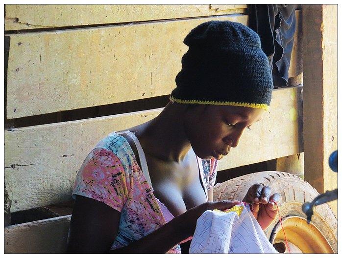 原生态黑人美女照片的诞生