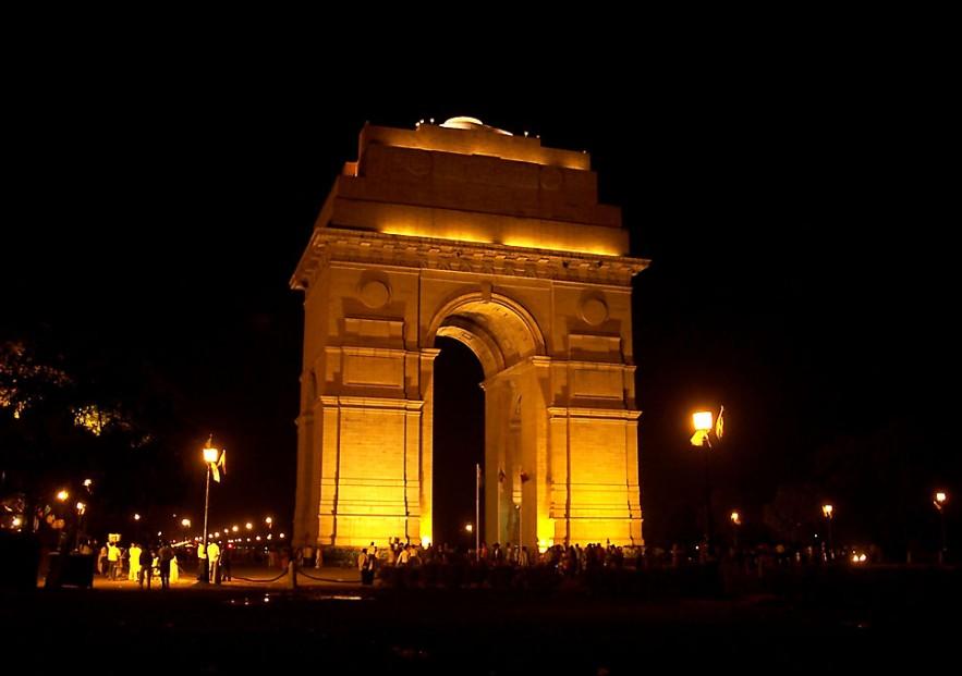 印度门为吉特拉式建筑,现在也市政府迎接各国宾客的重要场地.图片