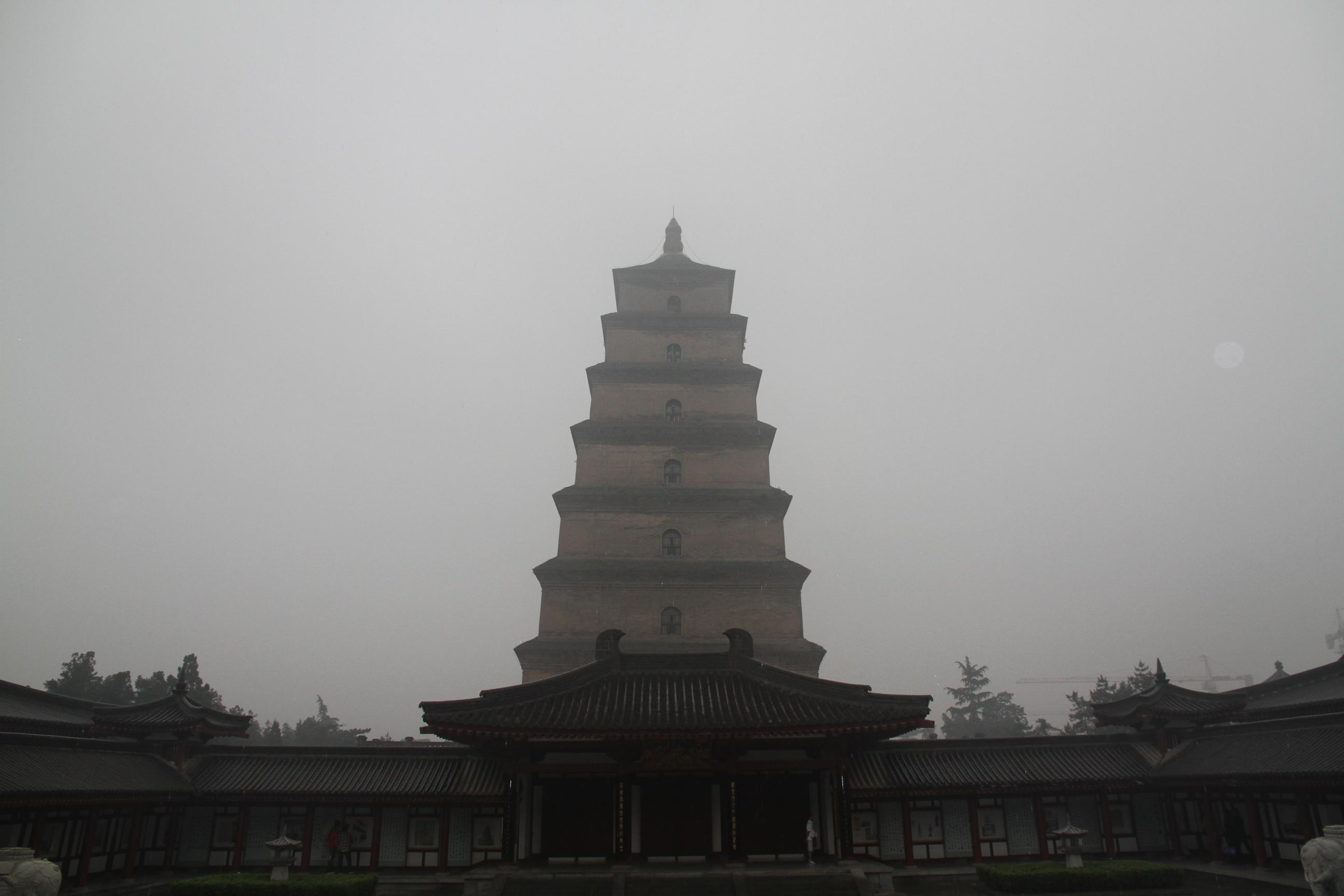 201105西安大雁塔