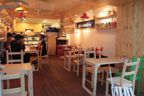 韩国首尔鸭鸥亭可爱蛋糕店jiyugaoa