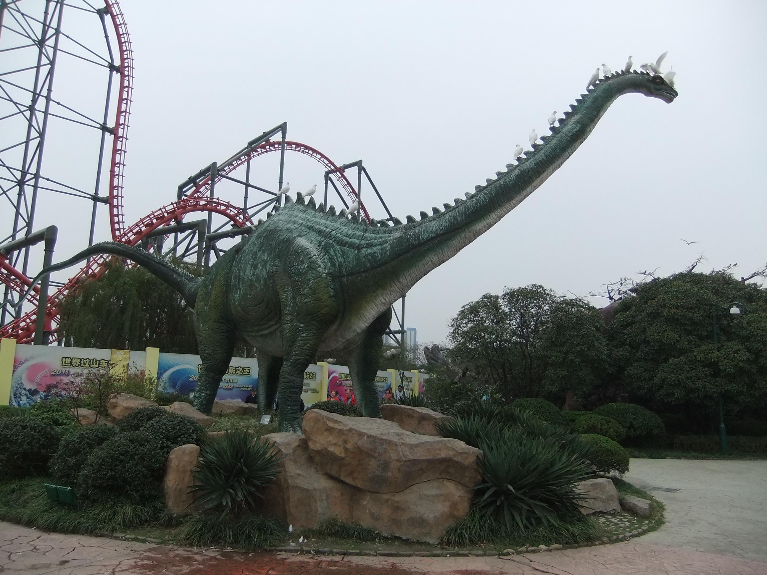 常州中华恐龙园怎么玩