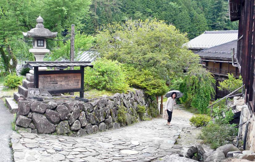 一个稻草编织的小动物呆呆地注视游客