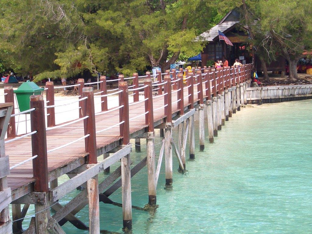 最接近天堂的地方——沙巴佳蓝汶莱度假村