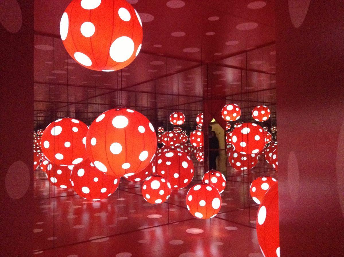上海当代艺术馆之草间弥生个展—我的一个梦