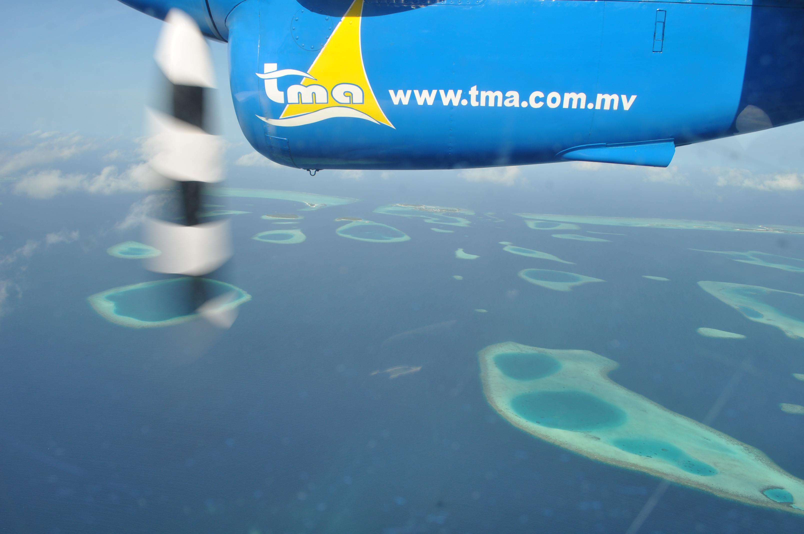 世界海洋和小岛分布图