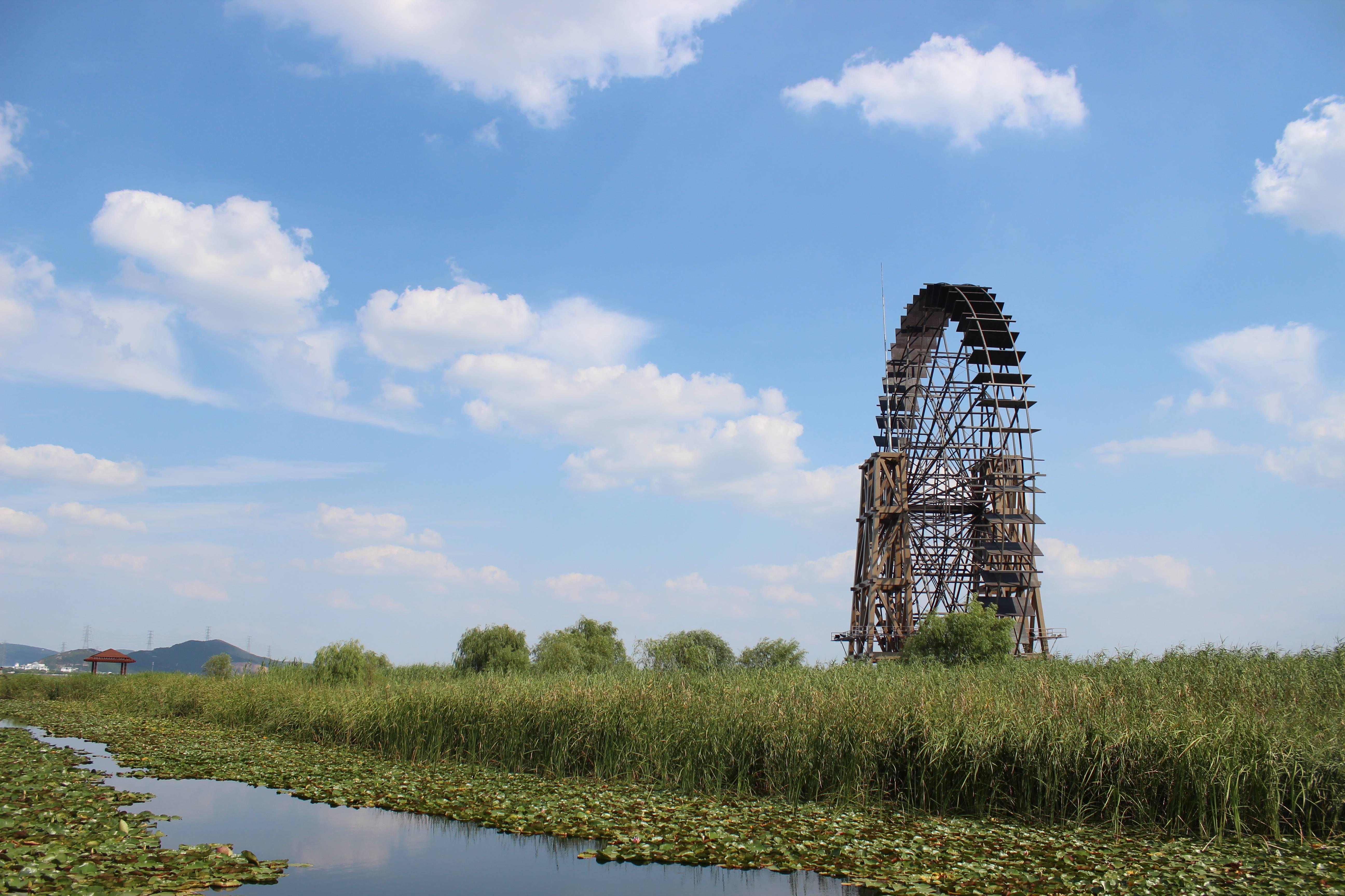 苏州太湖公园图片