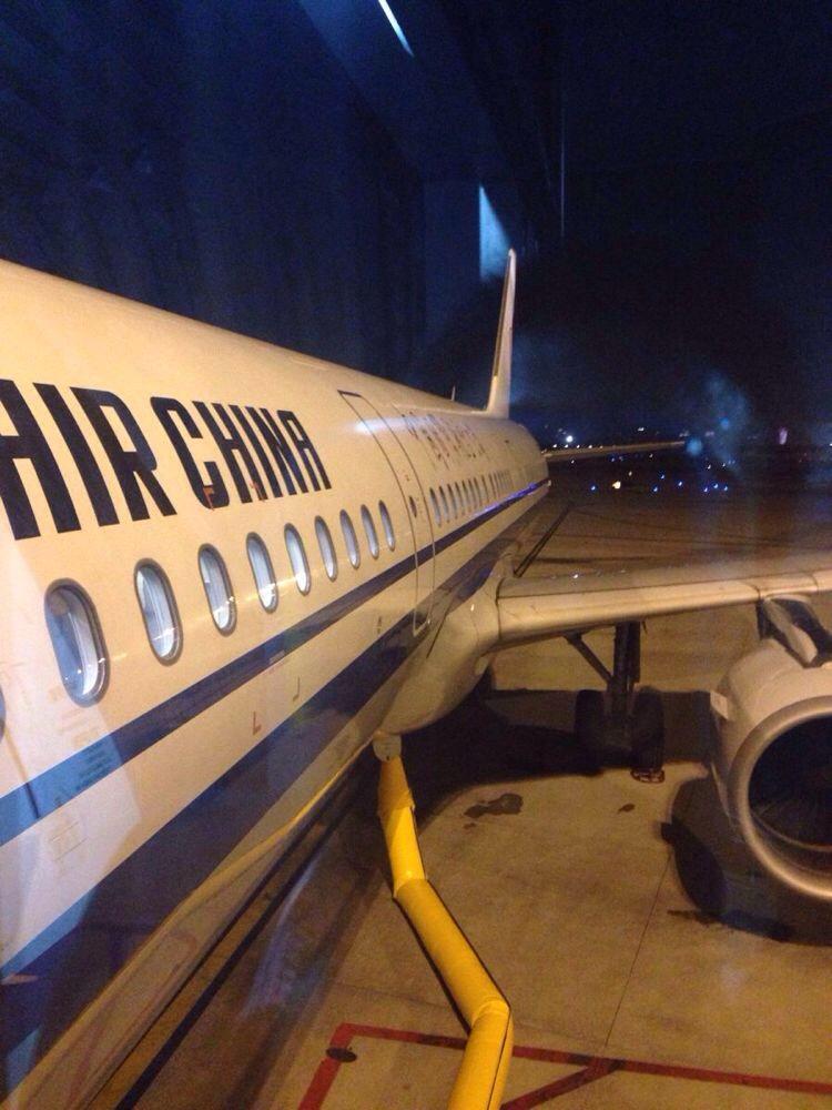 国航非北京晚上最后一班飞机
