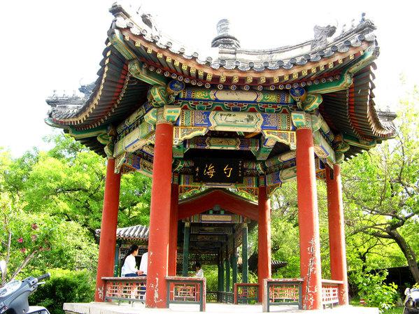 """北京(7)""""一塔湖图""""在北大"""
