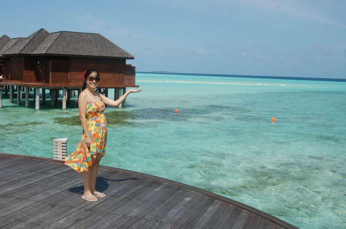 离天堂最近的地方-马尔代夫-双鱼岛