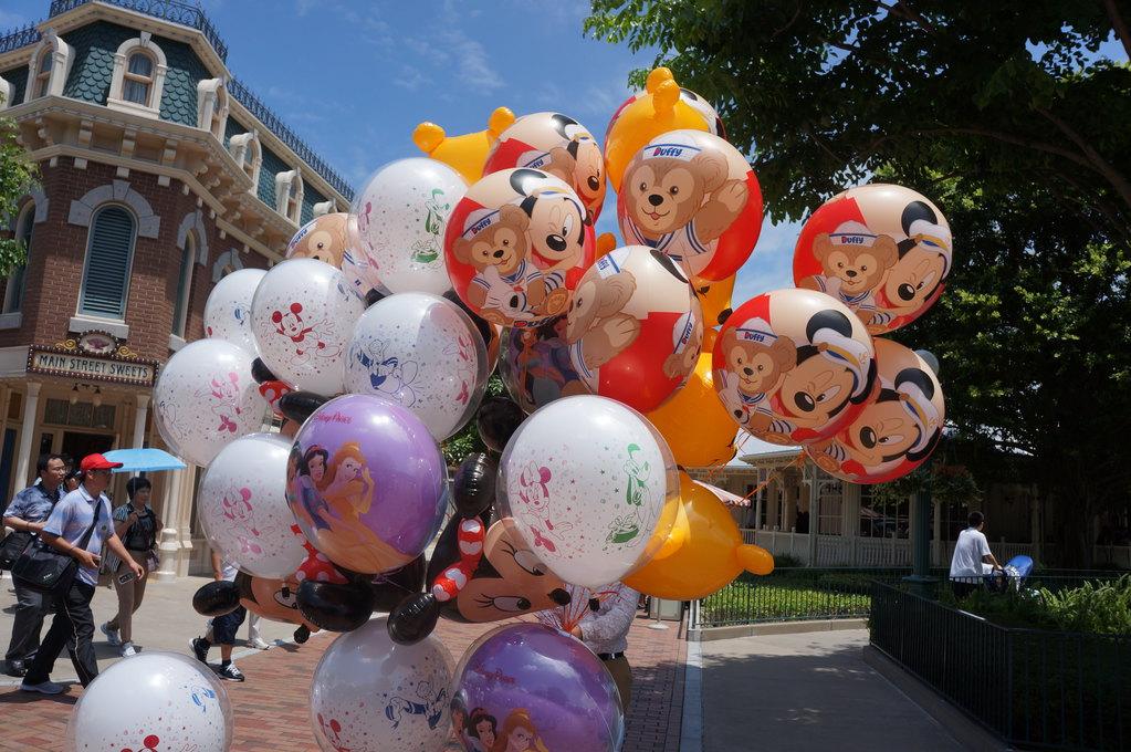 迪士尼 气球