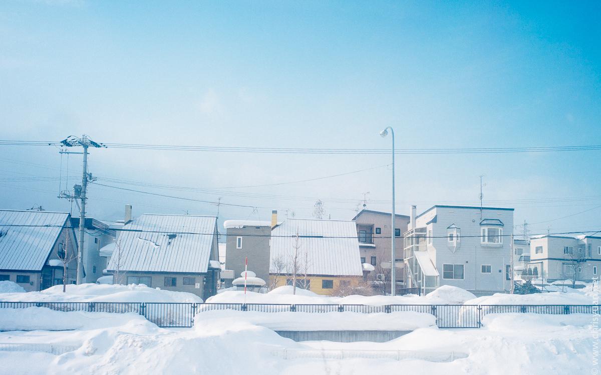 小樽雪景图片