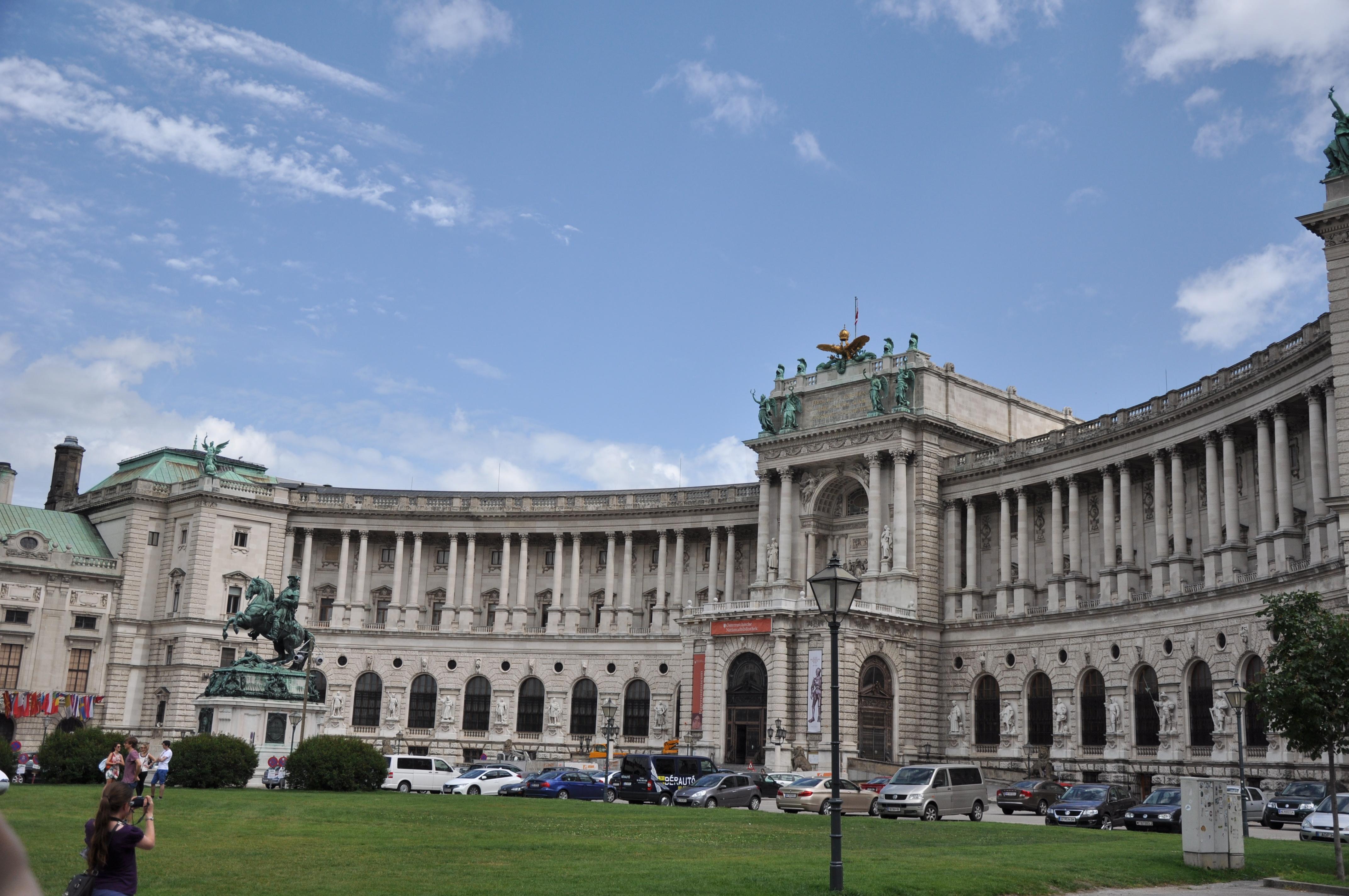 维也纳古代皇宫