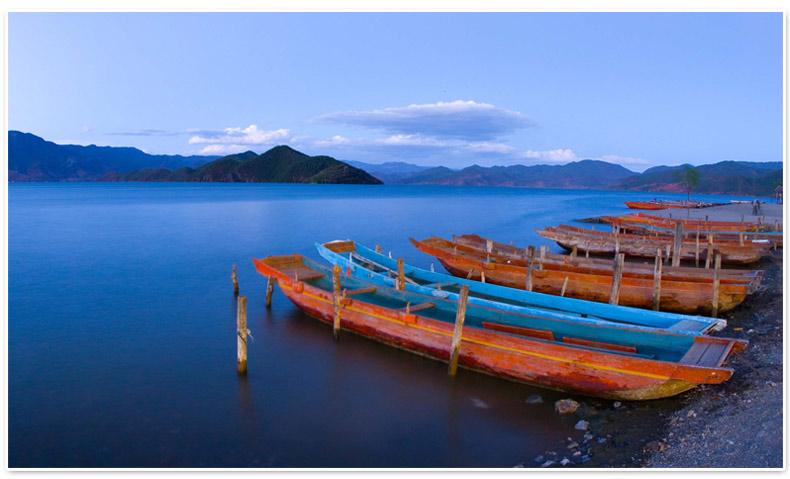 速河古镇,玉龙雪山5a风景区,香格里拉普达措森林公园,泸沽湖里务比岛
