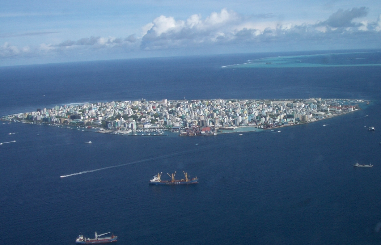 马尔代夫水上飞机观景