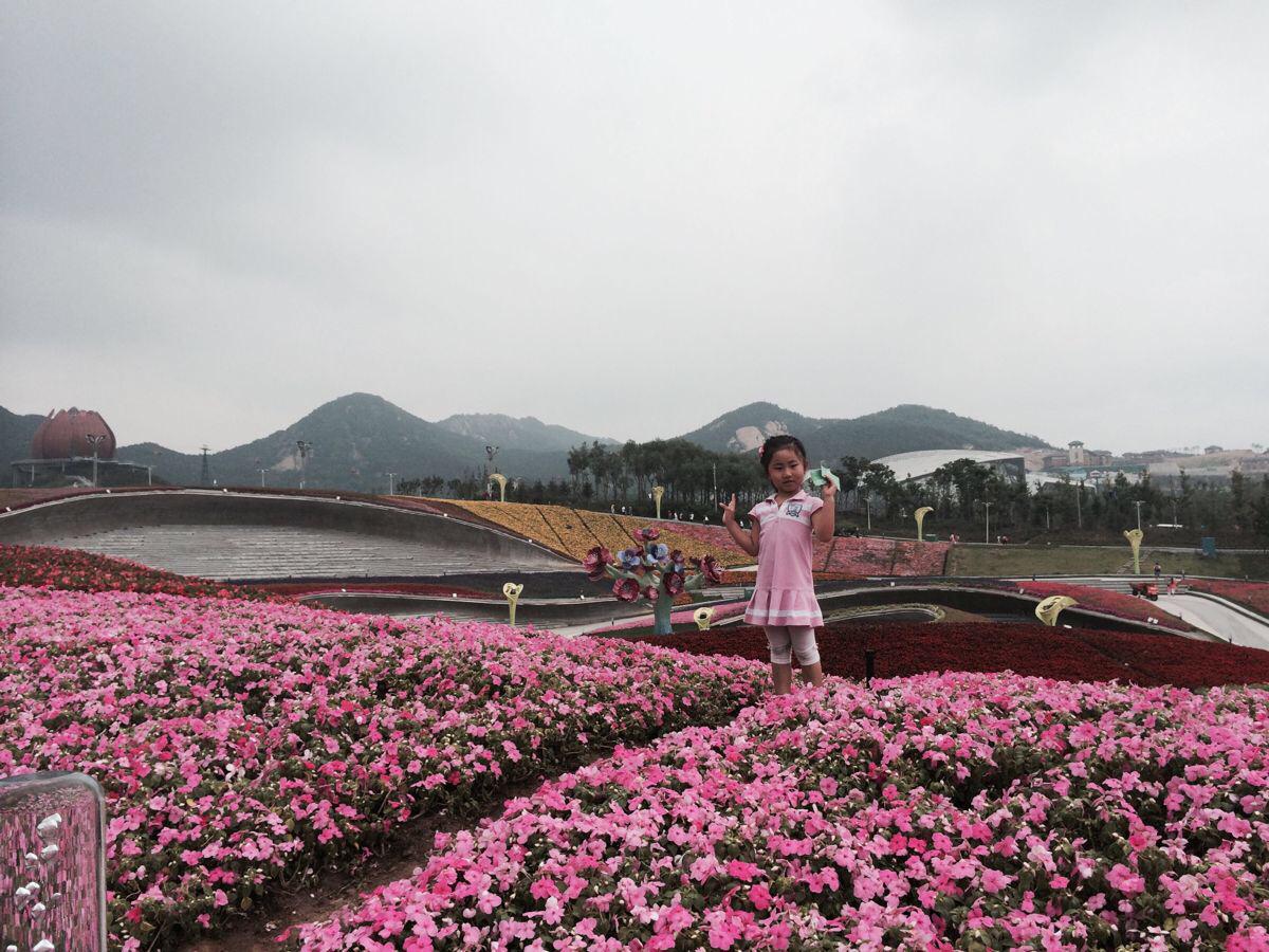 青岛世博园会座落在李沧区百果山森林公园,吉祥物为海