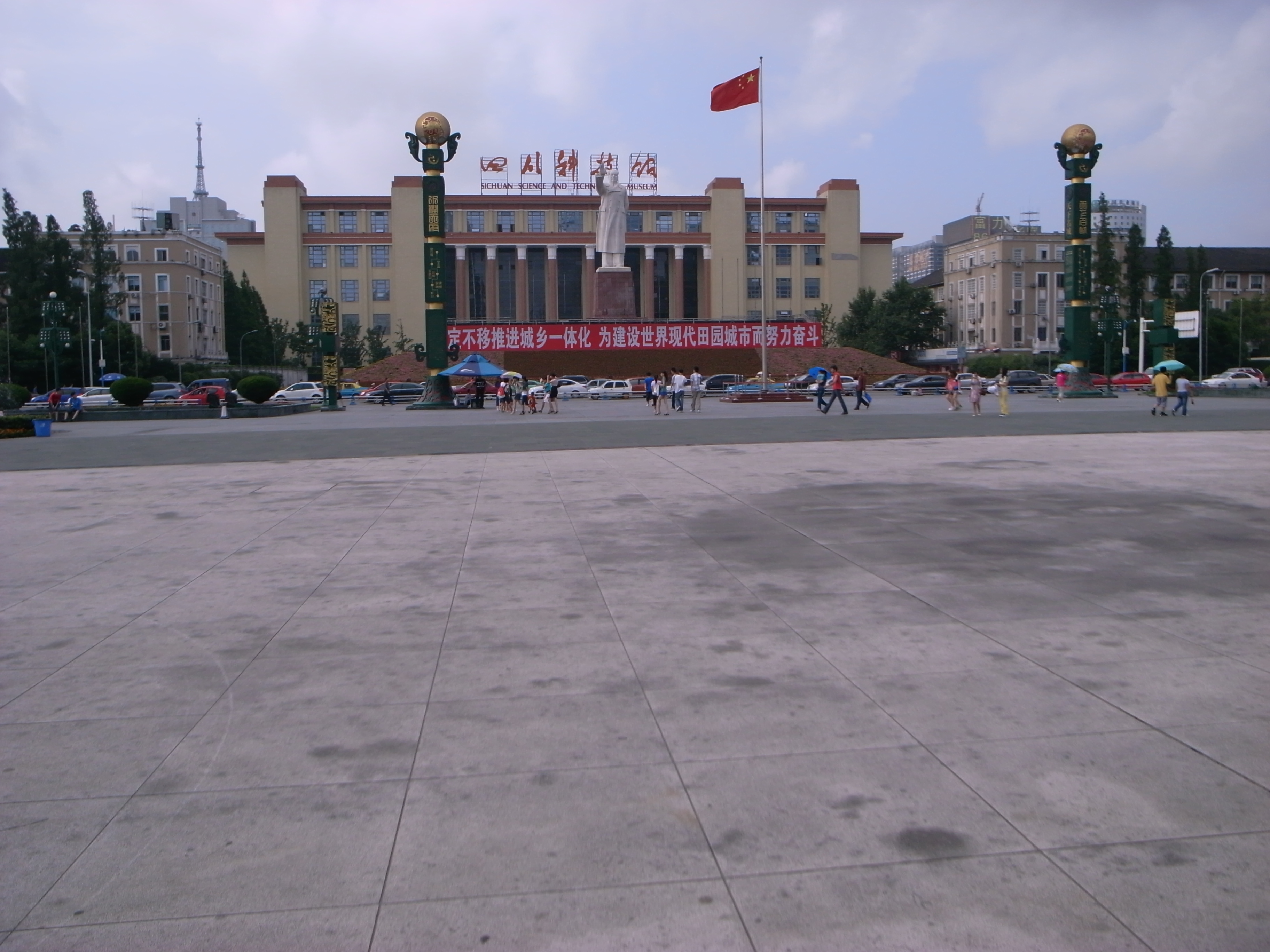 201007成都天府广场