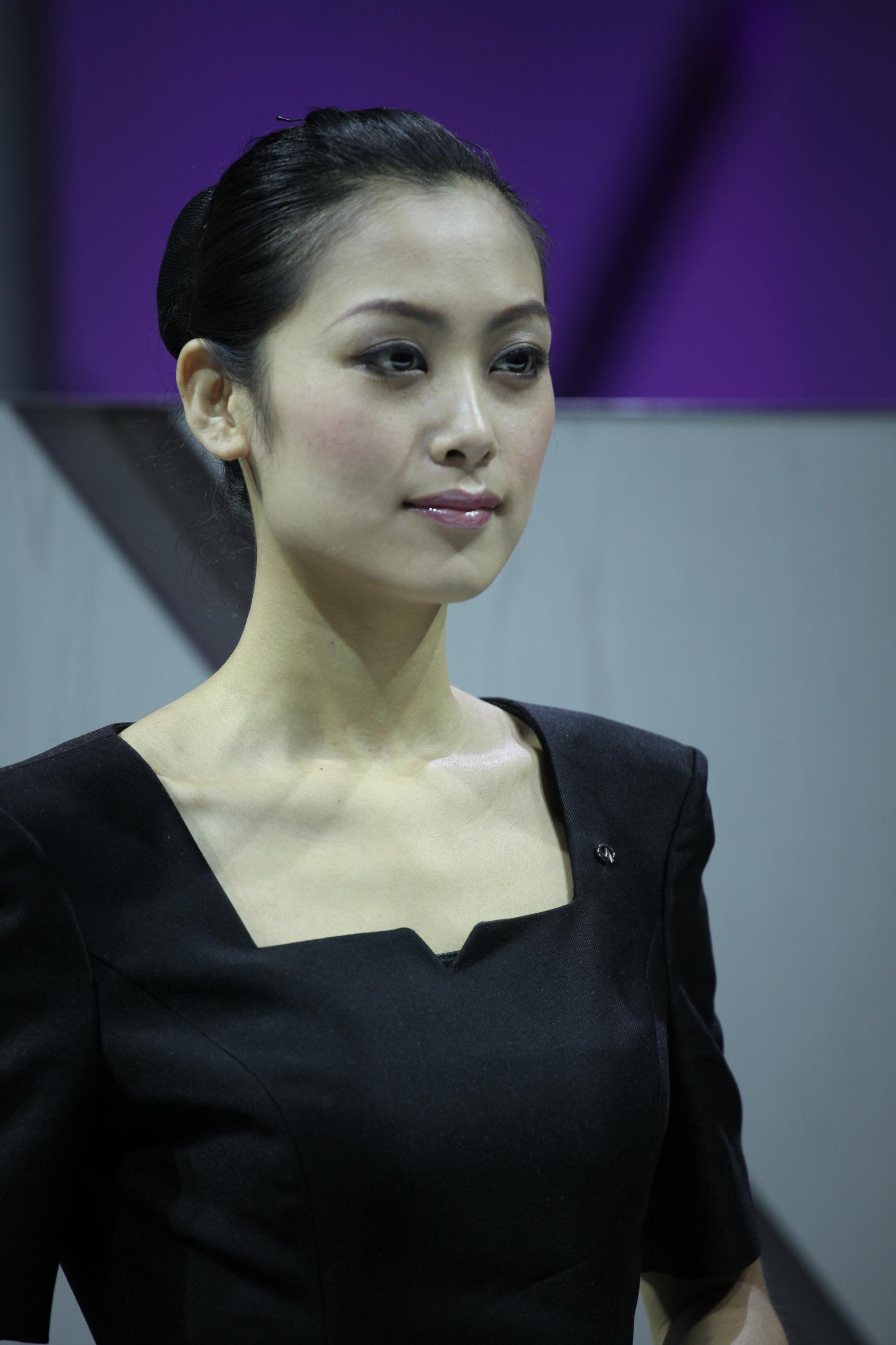 2011年上海国际车展之模特篇(各种小清新,高洋上,白富