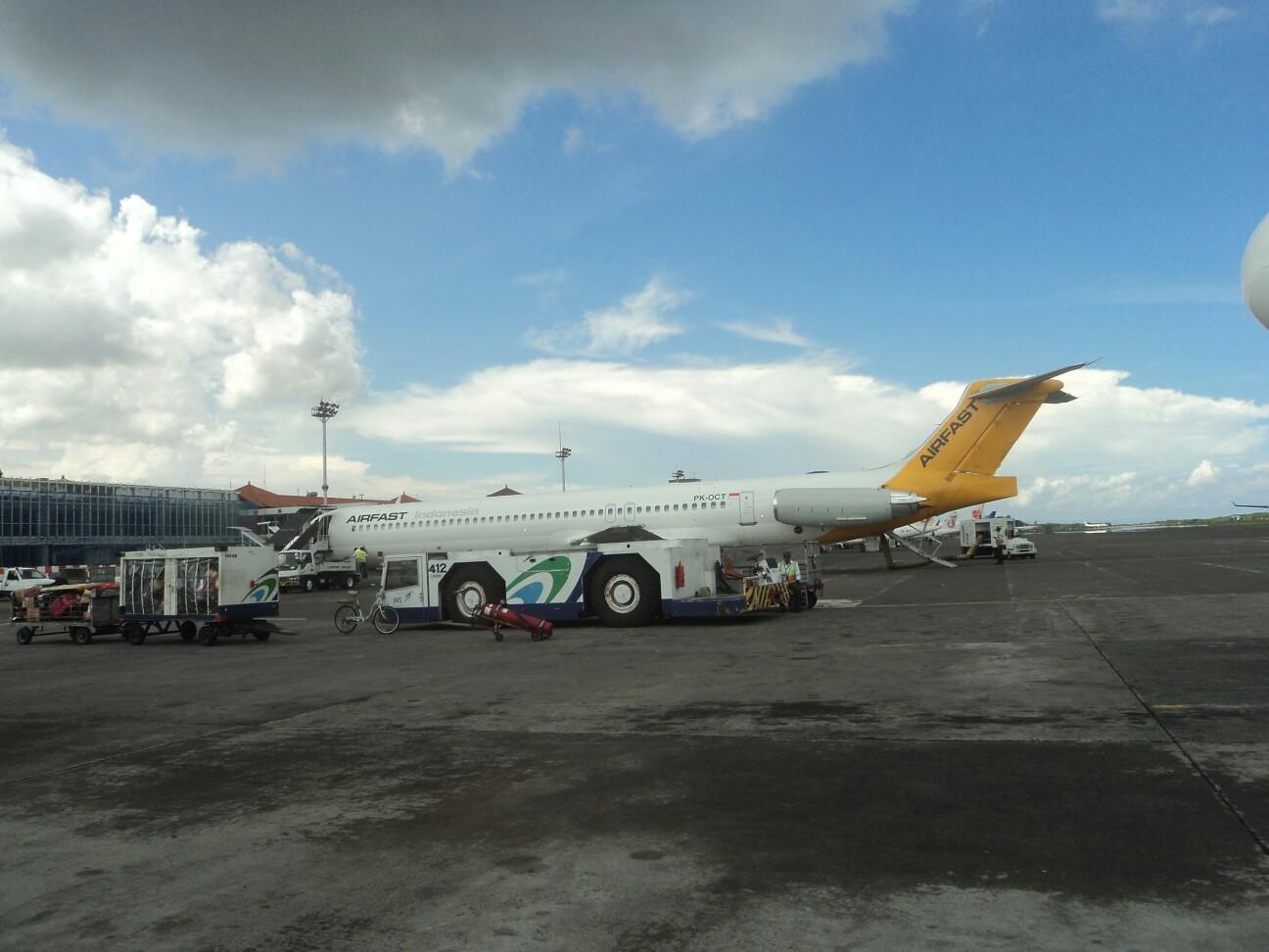 到达巴厘岛机场