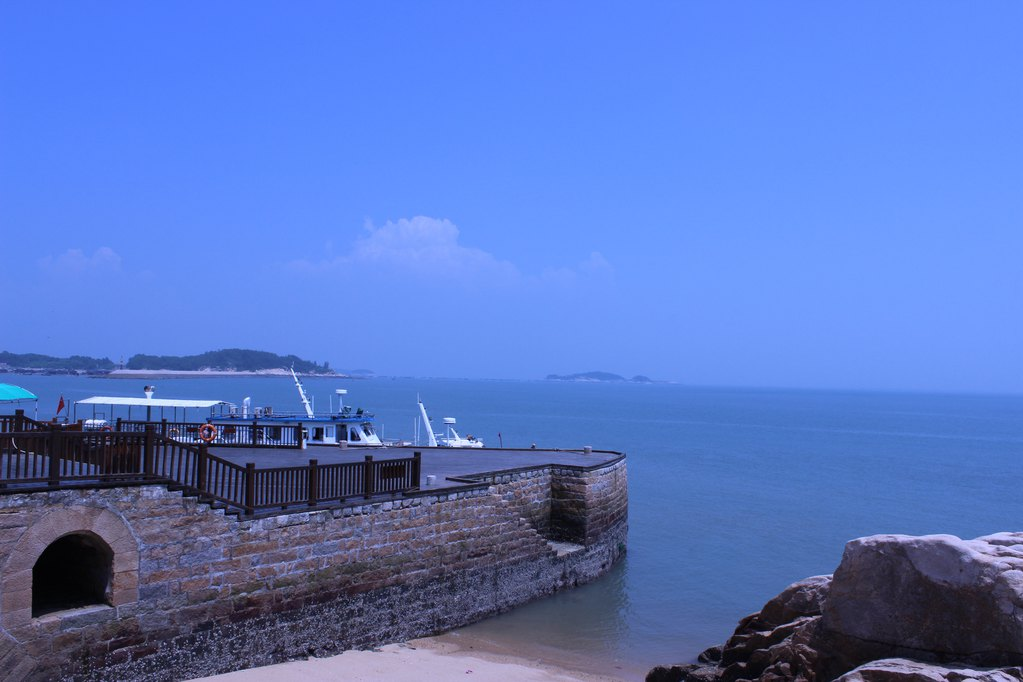 东山岛之蓝天,碧海,吃海鲜