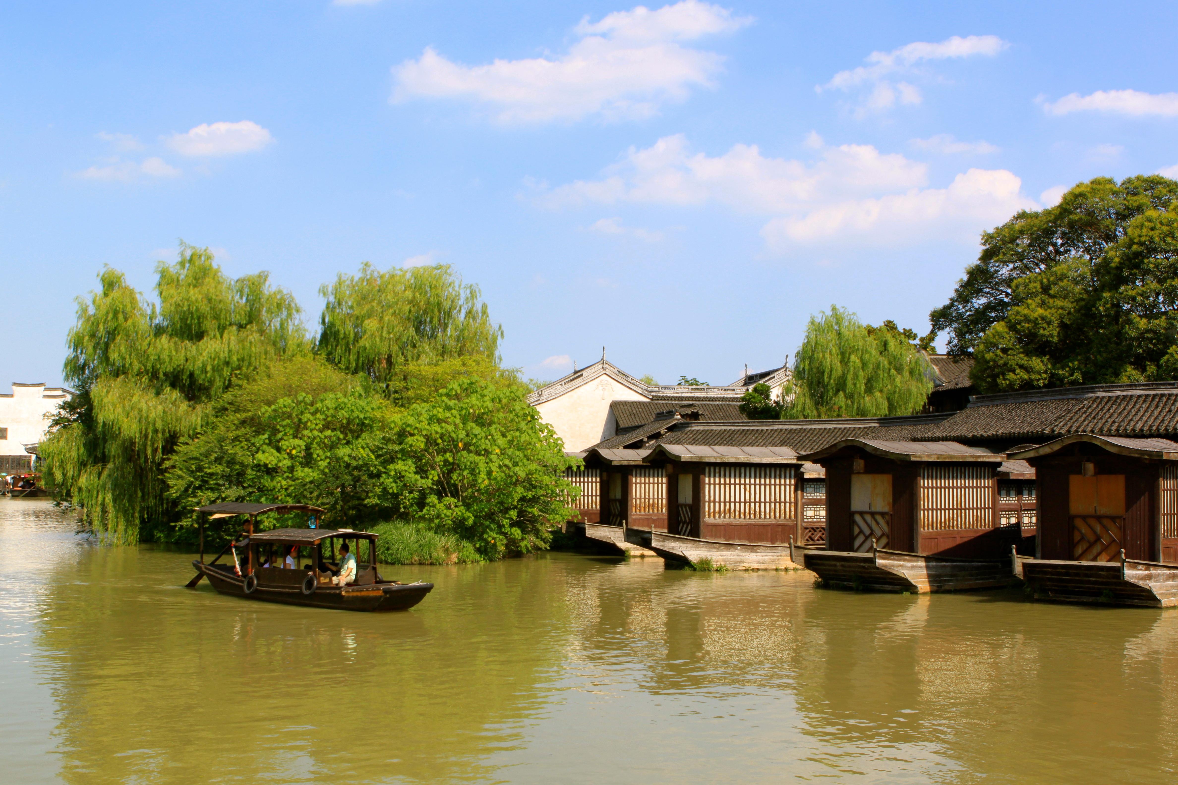 江南里景观高清图片