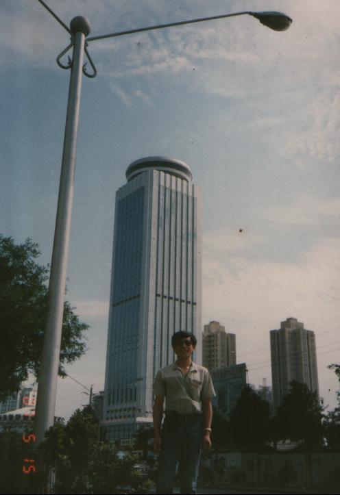 当时的深圳地标