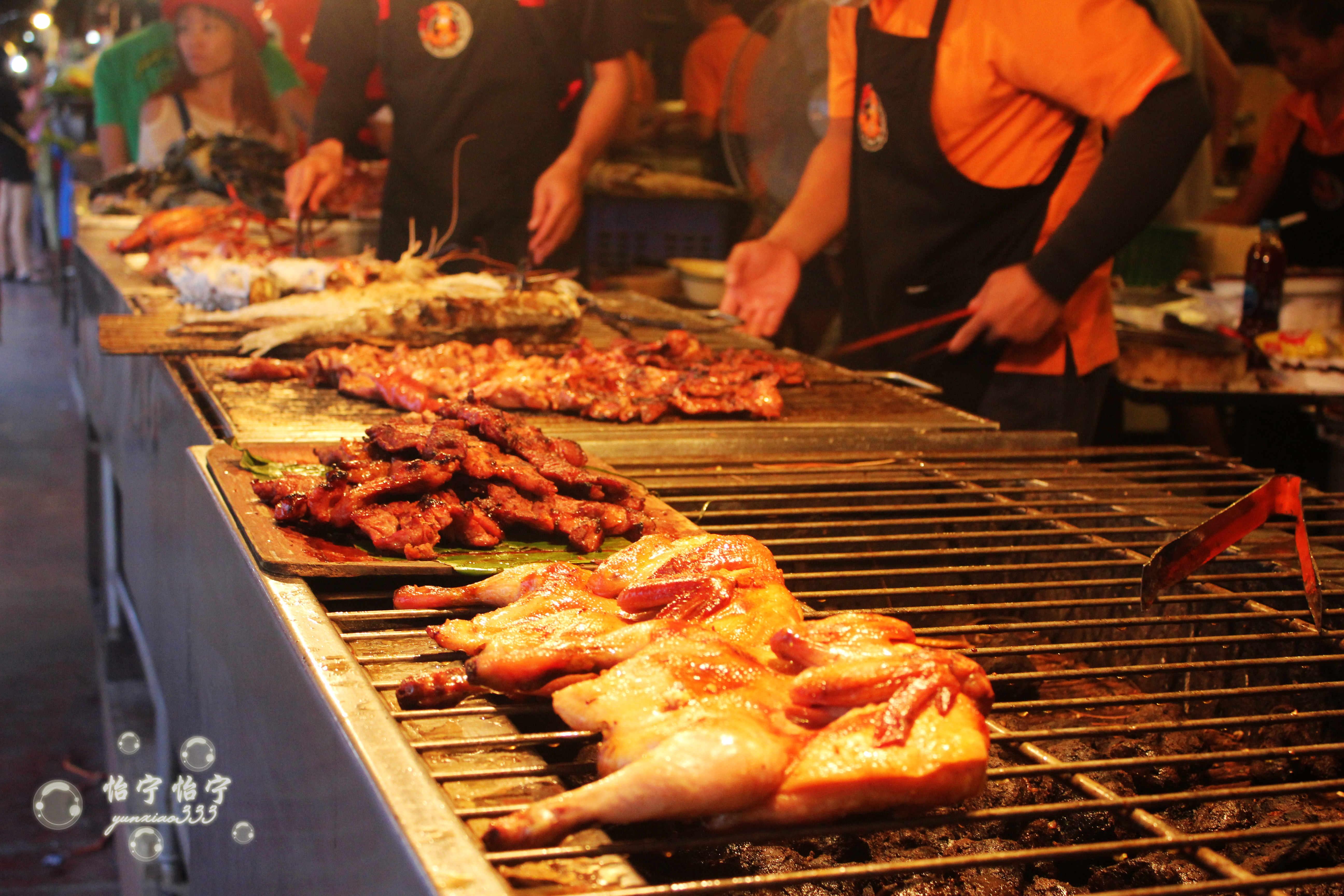 曼谷傲瓦水上美食攻略市场珍品v美食青蛙获得攻略图片
