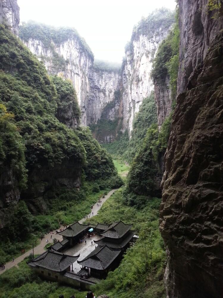 【携程攻略】重庆武隆武隆天坑地缝国家地质公园好玩