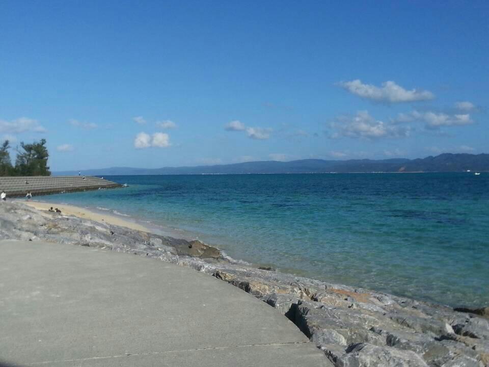 古宇利岛的海水
