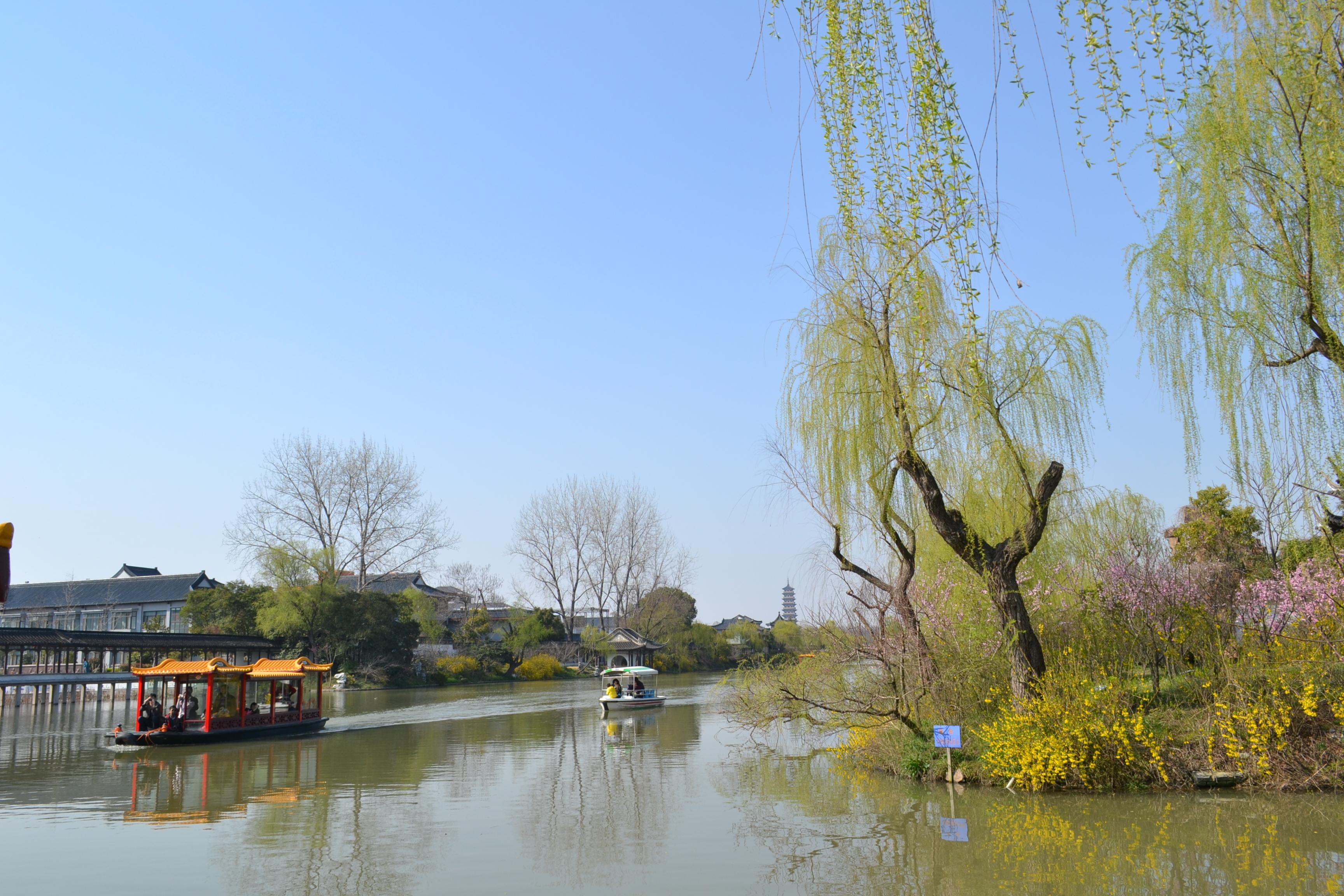 游扬州瘦西湖通关少女攻略口袋图片