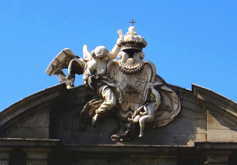 欧式女神喷泉雕塑