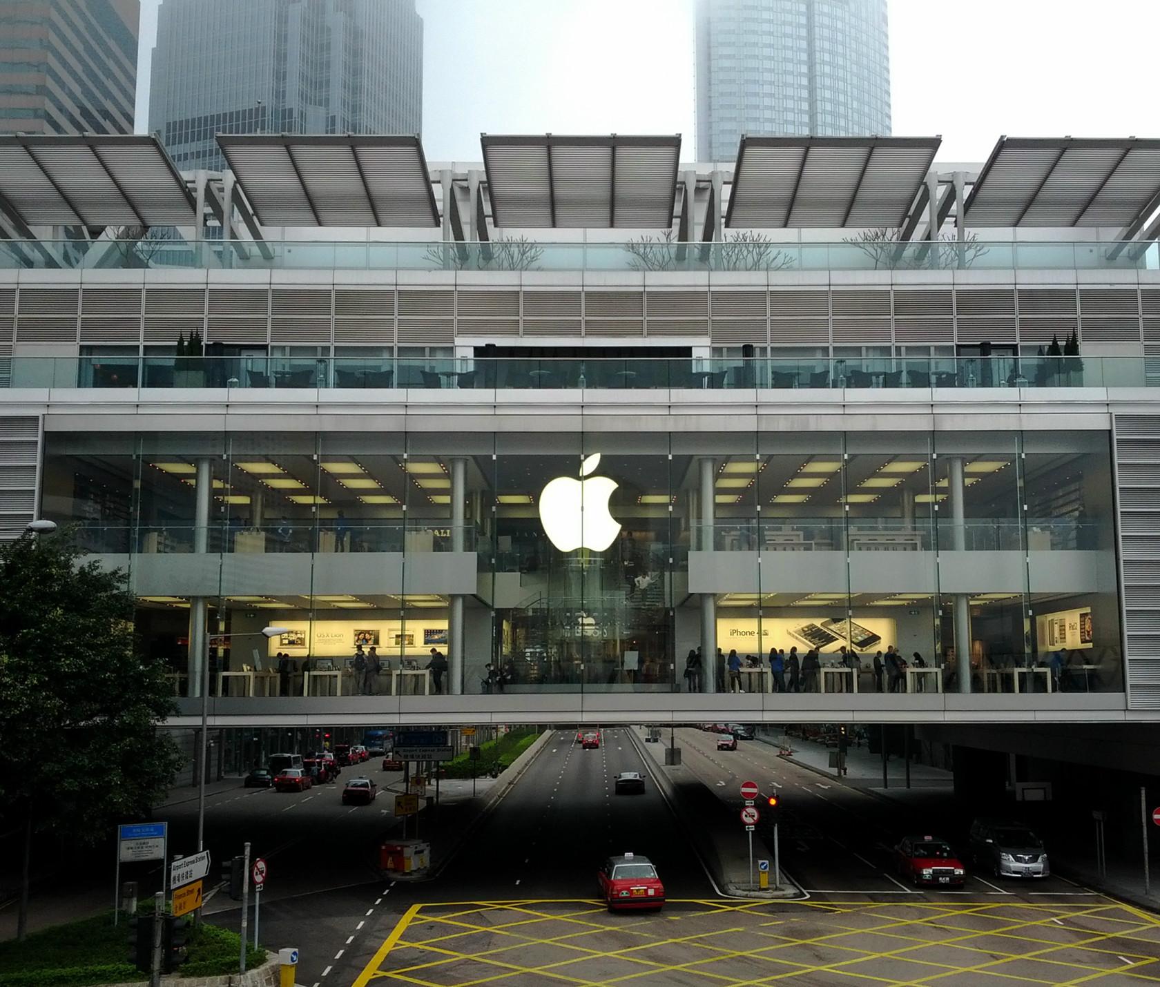 苹果香港_香港苹果ifc旗舰店