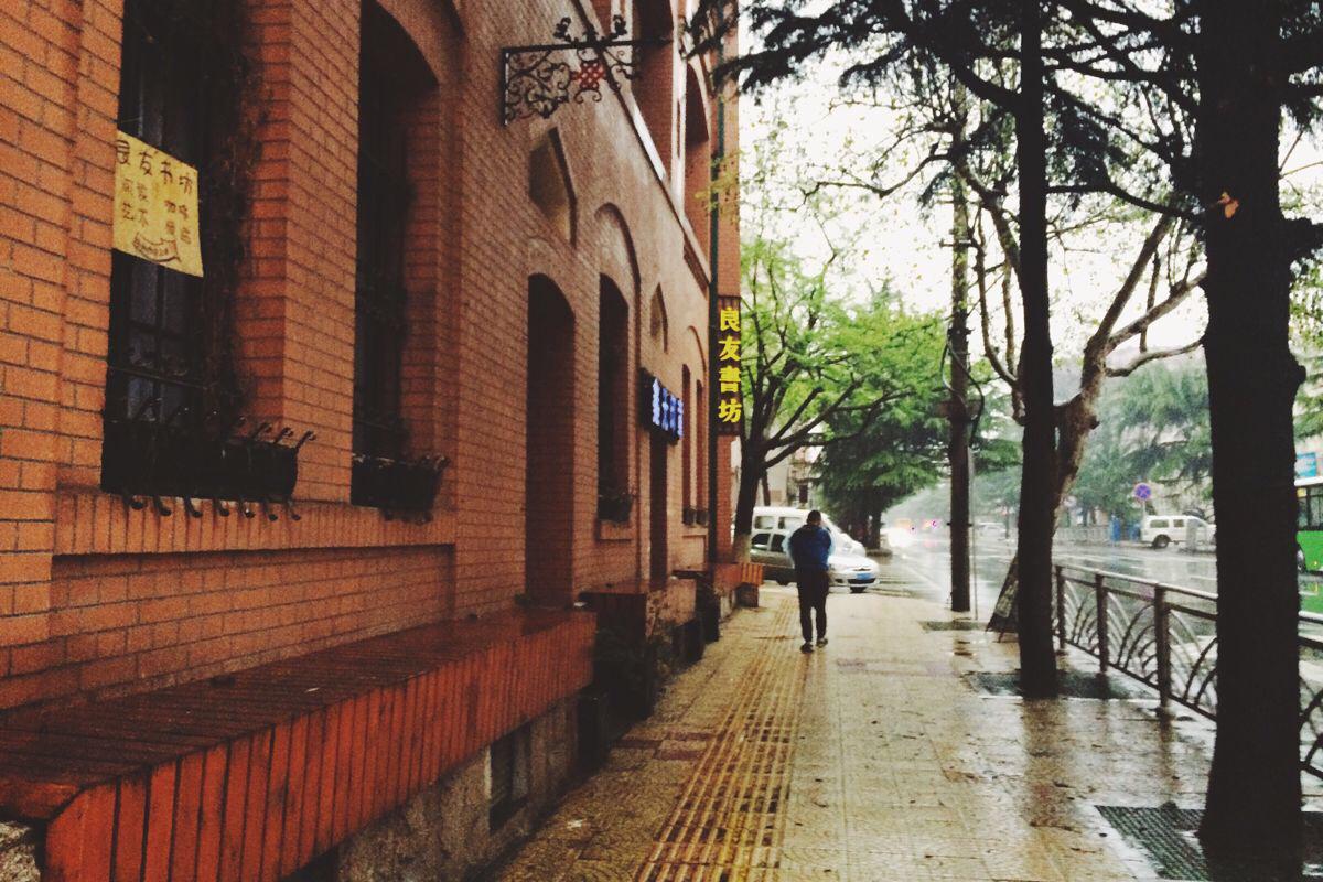 复古街道图片头像