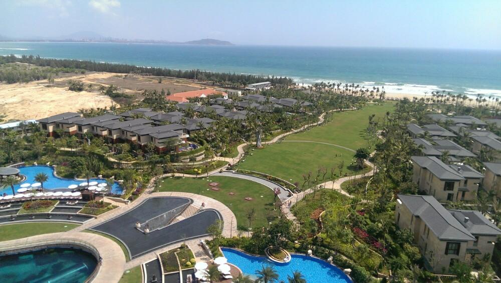 洲际亚洲湾_三亚海棠湾洲际酒店体验
