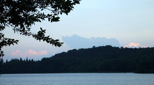 西湖多景手绘大图