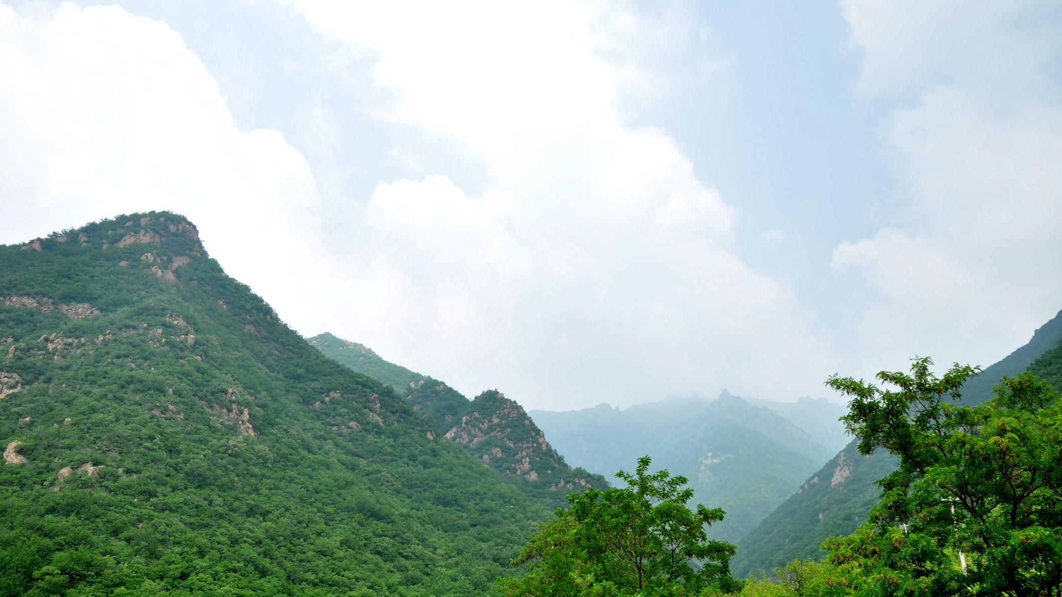 2014年7月门头沟灵山自驾游