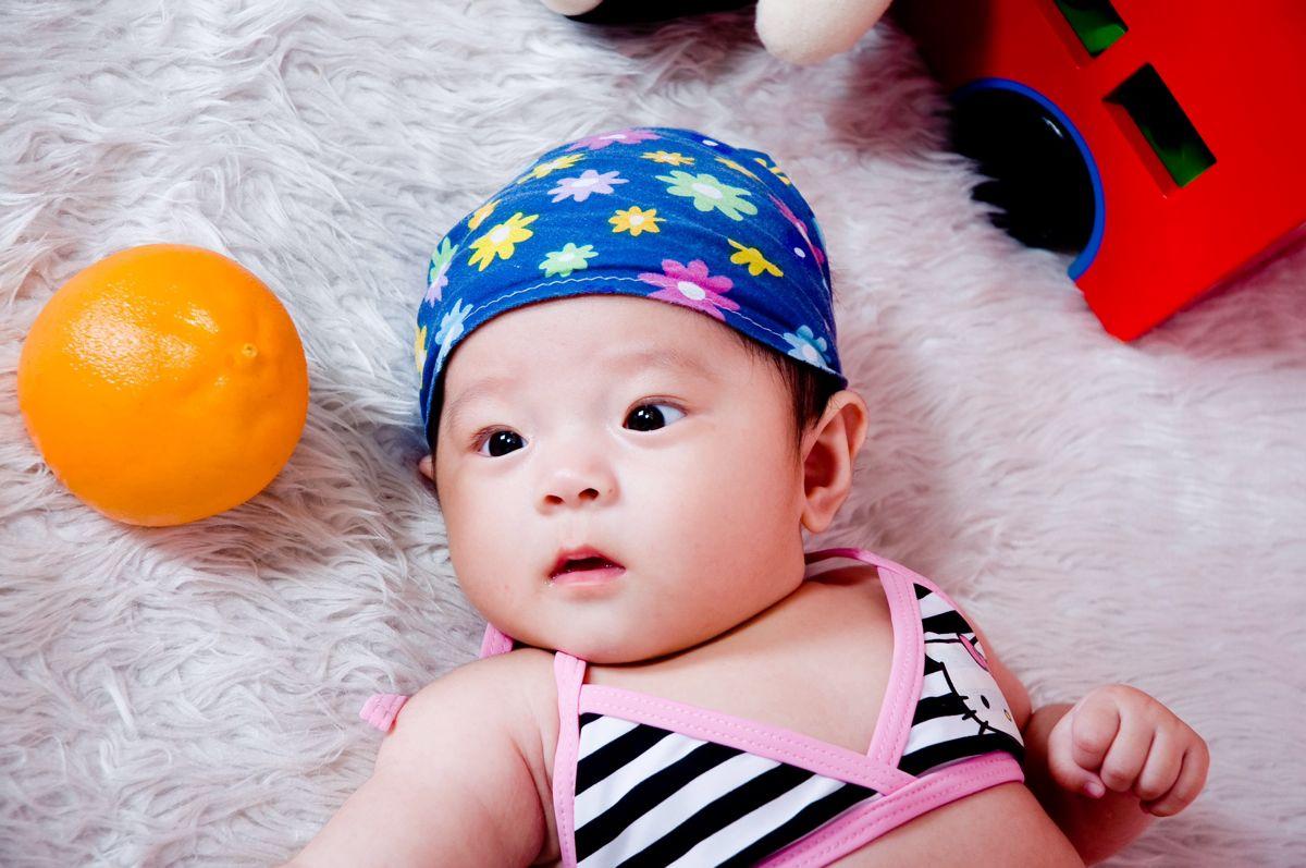 电脑壁纸中国婴儿
