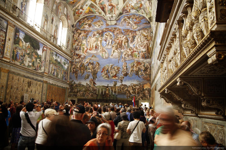 【携程攻略】梵蒂冈西斯廷教堂景点,整个梵蒂冈博物馆