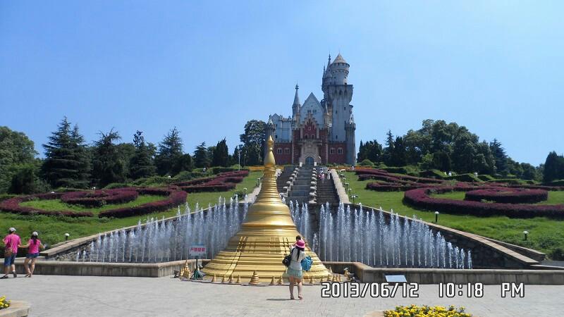德国新天鹅城堡,标志性的建筑,快男城堡