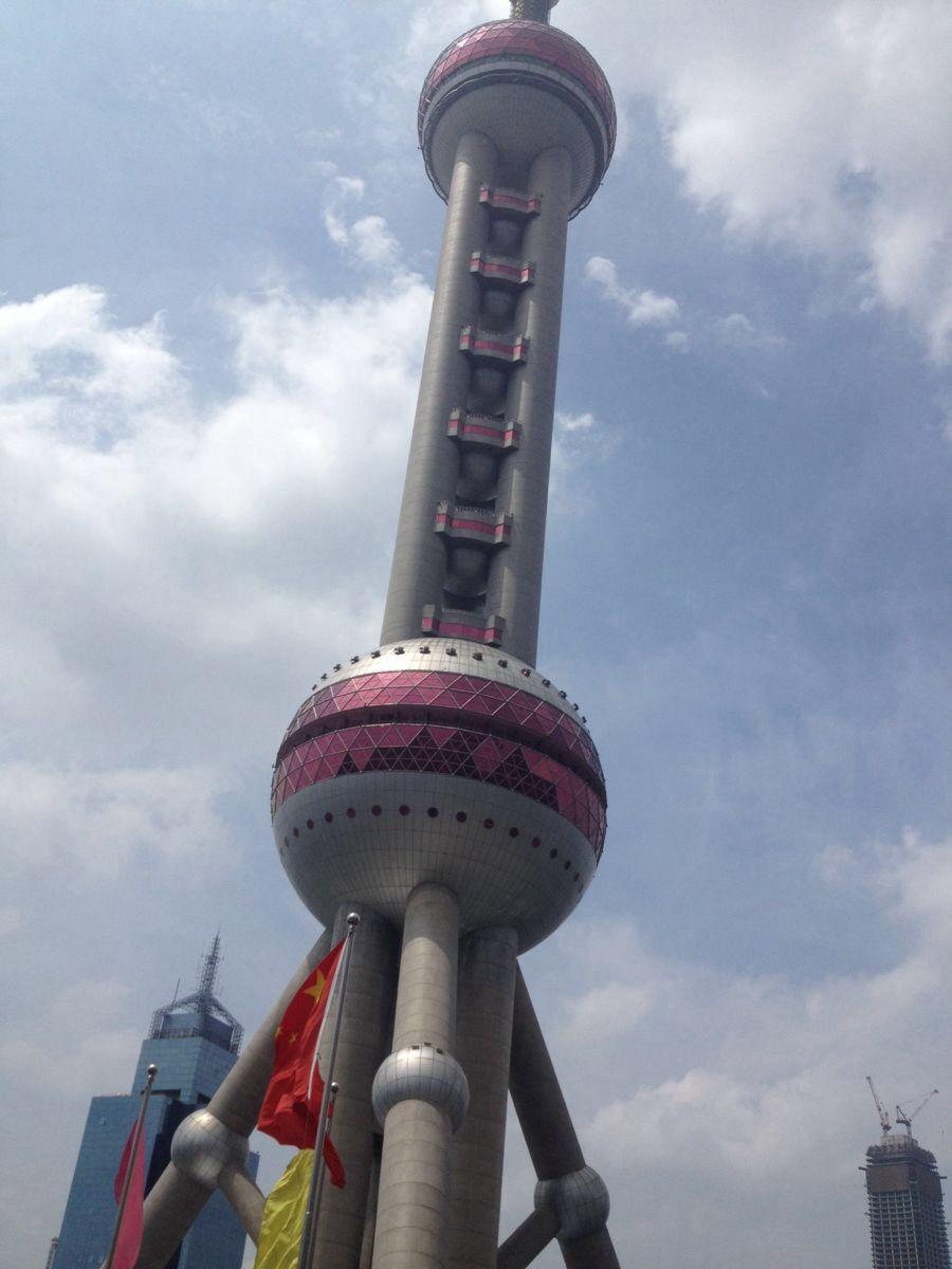 东方明珠电视塔高度图片