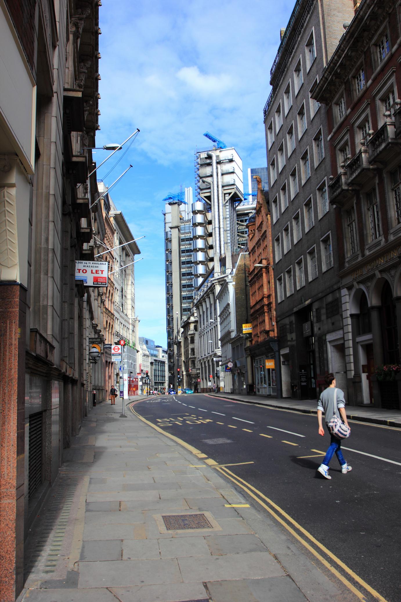 英国街景矢量图