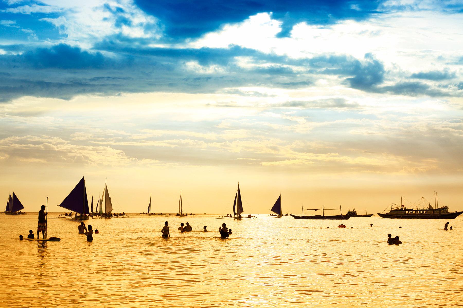 长滩岛6天自助游v攻略攻略-记忆攻略与海的景点雪窦山风景区沙滩阳光图片